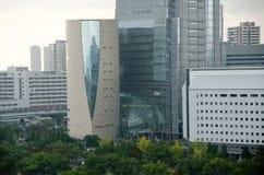 Osaka historiemuseum, Japan Arkivfoton