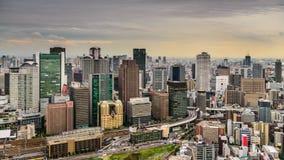 Osaka horisont stock video