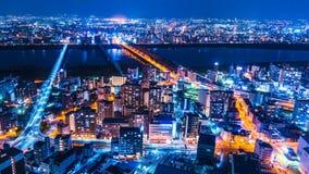 Osaka, Japón 1 de abril de 2018 almacen de metraje de vídeo