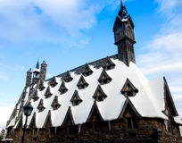 OSAKA, JAPÓN 24 de noviembre: castillo de Harry Potter el 24 de noviembre, 2 Fotos de archivo libres de regalías