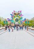 OSAKA, JAPÓN - 21 DE NOVIEMBRE DE 2016: Entrada principal con 15 años de Anniver Imagen de archivo