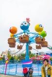 Osaka, Japón - 21 de noviembre de 2016: Las atracciones del parque temático basadas encendido Imagenes de archivo