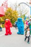 Osaka, Japón - 21 de noviembre de 2016: Las atracciones del parque temático basadas encendido Fotos de archivo libres de regalías