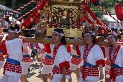 Osaka, Japón - festival de Tenjin Matsuri foto de archivo libre de regalías