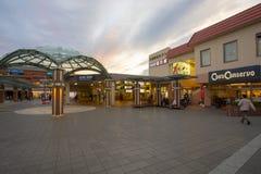 Osaka Japón - november5,2018: el exterior de la estación de trenes del mino-o, estación del mino es extremo de los trenes del hun imágenes de archivo libres de regalías