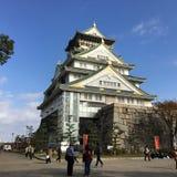 Osaka Japan świątynia Obrazy Royalty Free