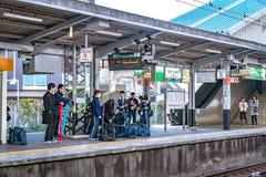 Free Osaka, Japan - 3 Mar 2018: Train Station And Platform Environment  At Sakaihigashi Station In The Afternoon, Osaka, Japan Royalty Free Stock Photo - 149736325