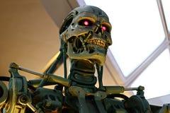 Photo of the T-800 End skeleton stock photos
