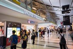 Interior of Osaka International Airport Stock Image