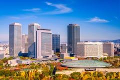 Osaka Japan Business Park photo libre de droits