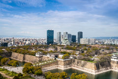Osaka, Japan City Skyline Stock Photos