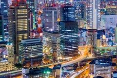 Osaka Japan Cityscape fotografia stock libera da diritti