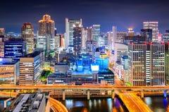 Osaka, Japan Cityscape Royalty Free Stock Images