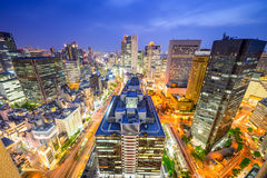 Osaka, Japan Cityscape Stock Images