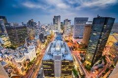 Osaka Japan Cityscape Royalty Free Stock Image