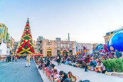 Osaka, Japan - 1 December 2015: The theme park attractions based Stock Image