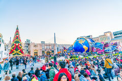 Osaka, Japan - 1 December 2015: The theme park attractions based Royalty Free Stock Images