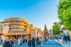 Osaka, Japan - 1 December 2015: The theme park attractions based Royalty Free Stock Image