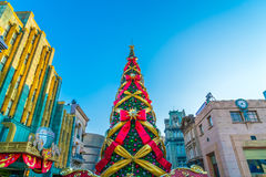 Osaka, Japan - 1 December 2015: The theme park attractions based Stock Photos