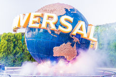 Osaka, Japan - December 1:  The theme park attractions based on Stock Photography