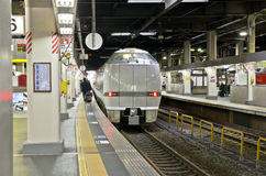 OSAKA, JAPAN - DECEMBER 10, 2015: A Thunderbird train. Stock Images