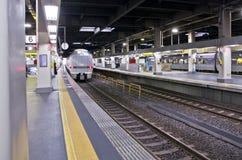 OSAKA, JAPAN - DECEMBER 10, 2015: A Thunderbird train. Royalty Free Stock Images