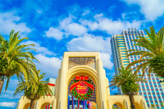 OSAKA, JAPAN - December 1, 2015: Universal Studios Japan (USJ). Royalty Free Stock Photos