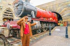 OSAKA, JAPAN - December 1, 2015: Universal Studios Japan (USJ) Stock Images