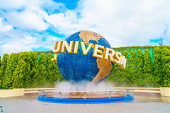 OSAKA, JAPAN - December 1, 2015: Universal Studios Japan (USJ). Royalty Free Stock Images