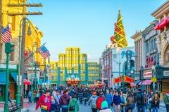 OSAKA, JAPAN - December 1, 2015: Universal Studios Japan (USJ). Stock Photo
