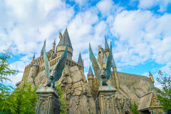 OSAKA, JAPAN - December 1, 2015: Universal Studios Japan (USJ). According to 2014 Theme Index Global Attraction Attendance Report, USJ is ranked fifth among Stock Photo