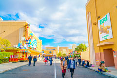 OSAKA, JAPAN - December 1, 2015: Universal Studios Japan (USJ). Royalty Free Stock Image
