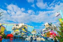 OSAKA, JAPAN - December 1, 2015: Universele Studio's Japan (USJ) Stock Foto's