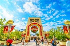 OSAKA, JAPAN - 1. Dezember 2015: Universal Studios Japan (USJ) Stockfotografie