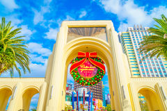 OSAKA, JAPAN - 1. Dezember 2015: Universal Studios Japan (USJ) Lizenzfreie Stockfotografie
