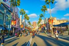 OSAKA, JAPAN - 1. Dezember 2015: Universal Studios Japan (USJ) Stockfoto