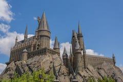 OSAKA, JAPAN - 2. Juni 2016 Foto von Hogwarts-Schloss in USJ Stockfoto