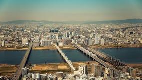 Osaka city in Japan Royalty Free Stock Photo