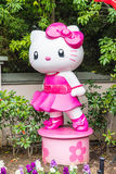 OSAKA, JAPAN - NOV 21 2016 : Elmo, Kitty and Snoopy in Halloween. OSAKA, JAPAN - NOV 21 2016: Elmo, Kitty and Snoopy in Halloween costume statues in Universal Royalty Free Stock Images