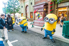 OSAKA, JAPAN - NOV 21 2016: Minion Mascot from Despicable Me in Stock Images
