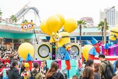 Osaka, Japan - NOV 21 2016 : New parade ,Reborn Parade, to celeb Stock Images