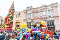 Osaka, Japan - NOV 21 2016 : New parade ,Reborn Parade, to celeb Royalty Free Stock Image
