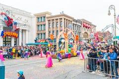 Osaka, Japan - NOV 21 2016 : New parade ,Reborn Parade, to celeb Royalty Free Stock Photo