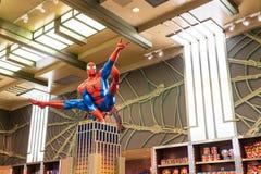 Osaka, Japan - NOV 21 2016 : Spiderman ride at Universal Globe o Royalty Free Stock Images