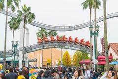 Osaka, Japan - NOV 21 2016: The theme park attractions based on Royalty Free Stock Photos