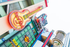 Osaka, JAPAN - NOV 21 2016 : Universal CityWalk Osaka is a enter Stock Photos