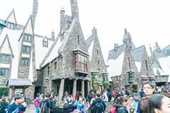 Osaka, Japan - NOV 21, 2016: The Wizarding World of Harry Potter. In Universal Studios Japan. Universal Studios Japan is a theme park in Osaka, Japan Stock Image