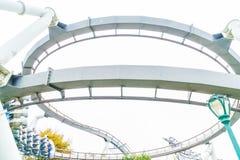 Osaka, Japan - 21. November 2016: Achterbahn in Universal Studios Lizenzfreie Stockbilder