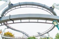 Osaka, Japan - 21. November 2016: Achterbahn in Universal Studios Stockbilder