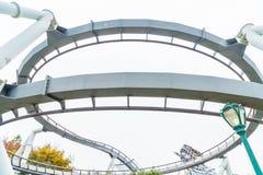Osaka, Japan - 21. November 2016: Achterbahn in Universal Studios Lizenzfreie Stockfotografie